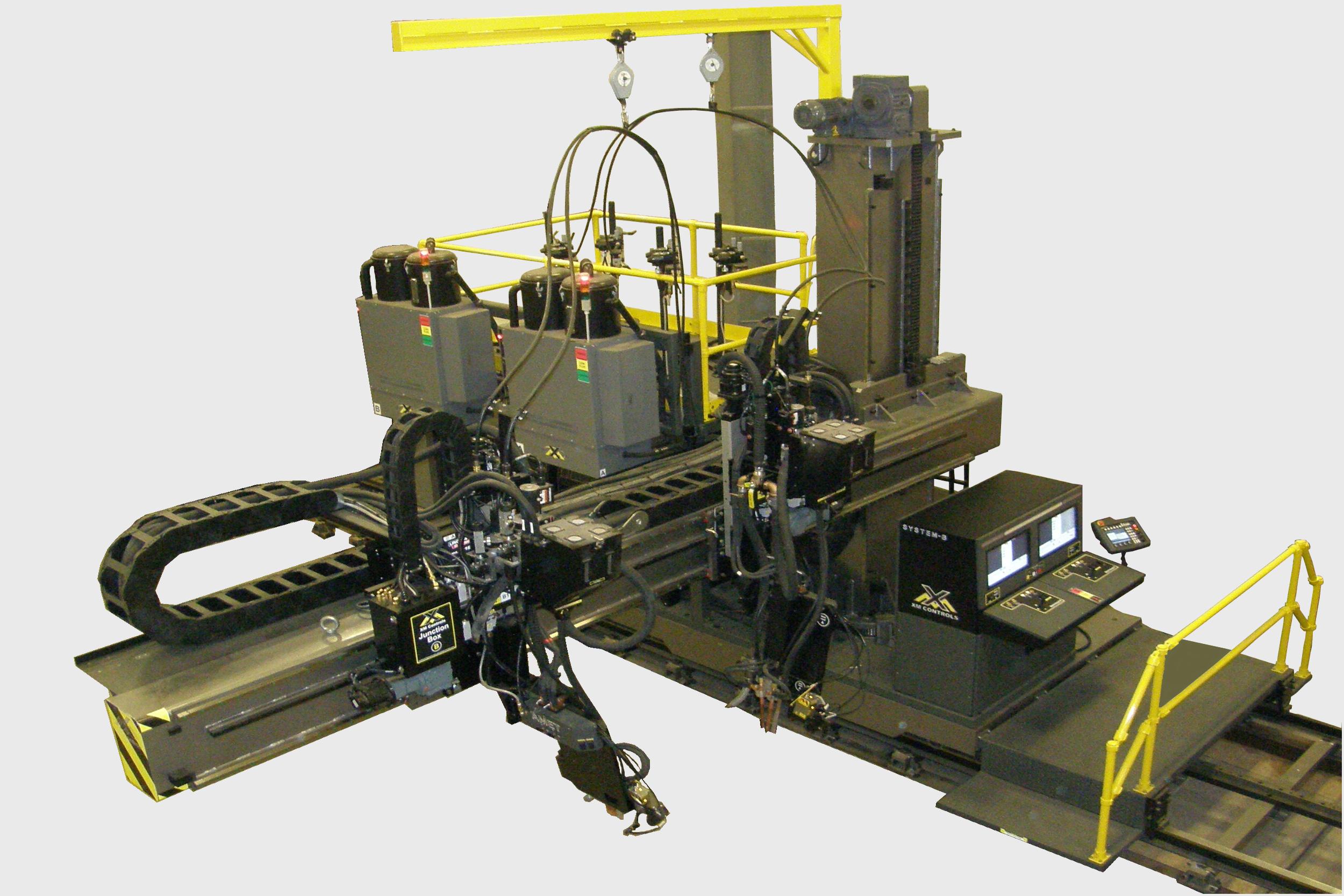 Construction welding automation